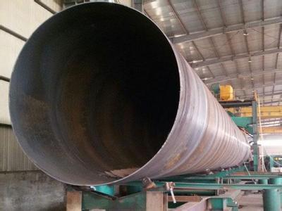 大口径厚壁螺旋钢管出厂前检测流程概括